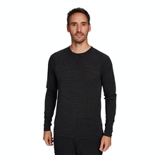 On Body - High-wicking, temperature regulating base layer crew.