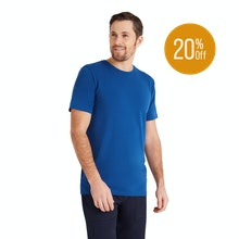 On Body - High-wicking, antimicrobial T that doubles as a base layer.