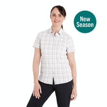 On Body - Soft, stretchy short-sleeved shirt for trekking and hillwalking.