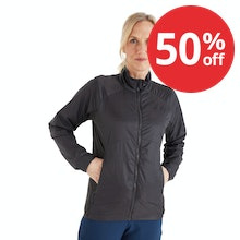 On Body - Lightweight and highly packable insulated jacket.