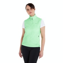 On Body - Ultra compact insulated vest for core warmth.