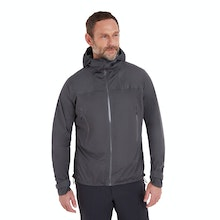 On Body - A men's rain jacket that's lightweight yet heavy duty, waterproof yet breathable.