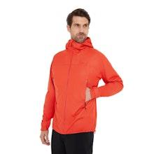 On Body - A men's rain jacket that's lightweight yet heavy duty, waterproof yet breathable.