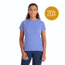 On Body - Extra fine, lightweight T for active days.