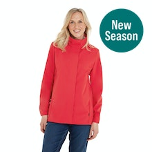 On Body - Fully windproof and water resistant jacket.
