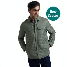 On Body - Lightweight, insulated, smart-casual city jacket.