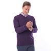 Men's Merino Fusion V Neck - Alternative View 6