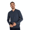 Men's Merino Fusion V Neck - Alternative View 3