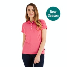 On Body - Stretchy, soft polo for casual everyday wear.
