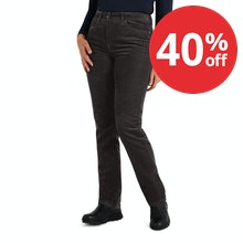 On Body - Durable, functional cord trousers with classic jean styling.