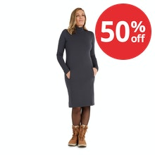On Body - A warm and thermally effective dress - the perfect companion for winter travel.