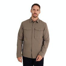 On Body - Tough, durable and warm overshirt for cold-weather travel.