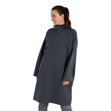 On Body - Waterproof, windproof and breathable unisex poncho with 2.5-layer Barricade technology.