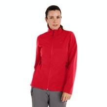 On Body - Brushed back, windproof mid layer fleece.