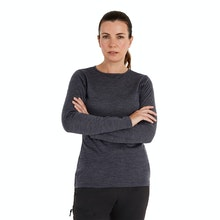 On Body - Durable and soft long sleeved crew - the ultimate winter layering piece.