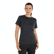 On Body - Durable and soft short sleeved crew - the ultimate winter layering piece.