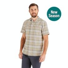 On Body - Durable, lightweight, cotton-feel short-sleeved shirt.