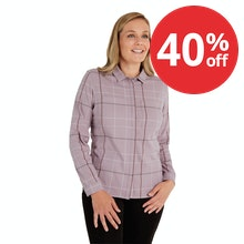 On Body - Warm, versatile winter shirt suitable for work and travel.