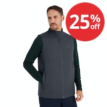 On Body - Lightweight and durable vest with high loft wadding for excellent warmth during the winter months.