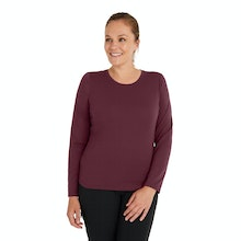 On Body - Soft, durable and versatile long sleeve top.