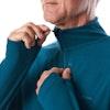 Men's Stretch Microgrid Zip Neck  - Alternative View 18