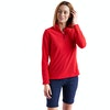 Women's Stretch Microgrid Zip Neck Top  - Alternative View 11