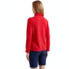 Women's Stretch Microgrid Zip Neck Top  - Alternative View 12