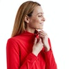 Women's Stretch Microgrid Zip Neck Top  - Alternative View 13