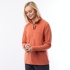 Women's Stretch Microgrid Zip Neck Top  - Alternative View 4