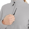 Women's Stretch Microgrid Zip Neck Top  - Alternative View 5