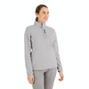 Women's Stretch Microgrid Zip Neck Top  - Alternative View 8