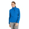 Women's Stretch Microgrid Zip Neck Top  - Alternative View 10