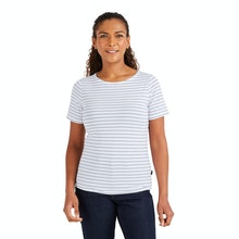 On Body - Soft, smart, technical short sleeved top.