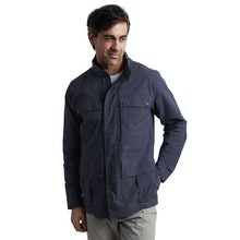 On Body - Multi-pocketed expedition jacket packed with modern technology.