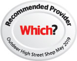 Which? Recommended Outdoor High Street Shop - 2019