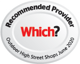 Which? Recommended Outdoor High Street Shop - 2020